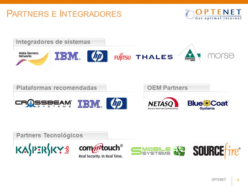 Partners e Integradores