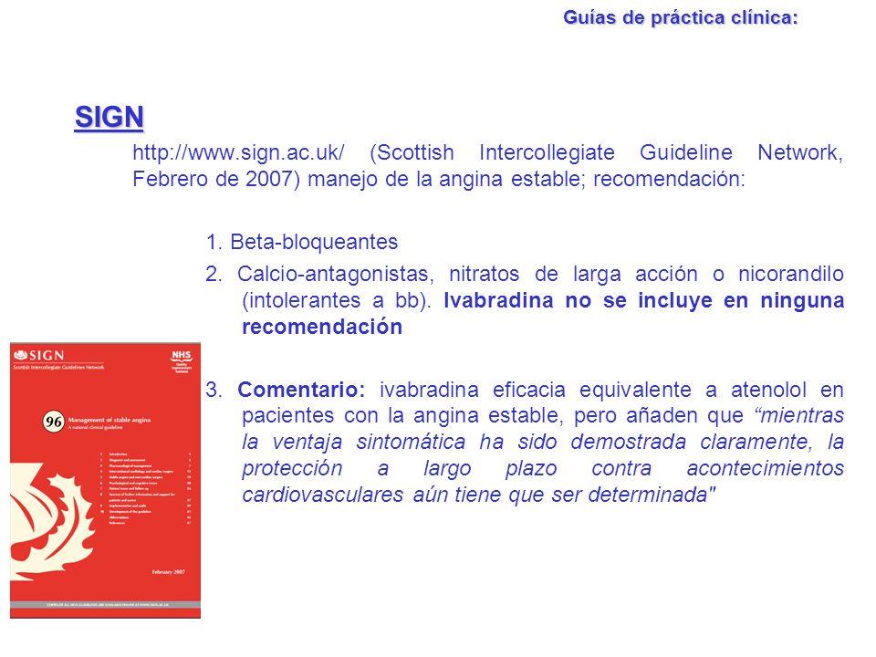 Guías de práctica clínica: