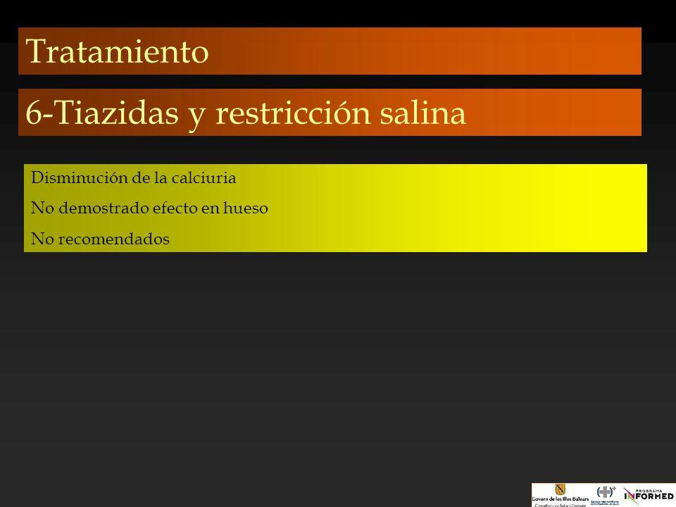 6-Tiazidas y restricción salina