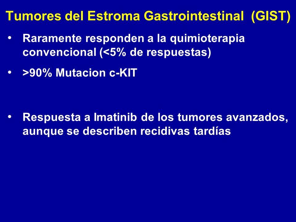 Tumores del Estroma Gastrointestinal (GIST)
