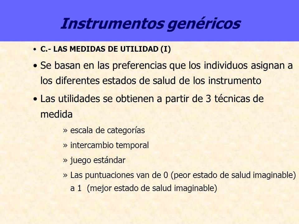 Instrumentos genéricos