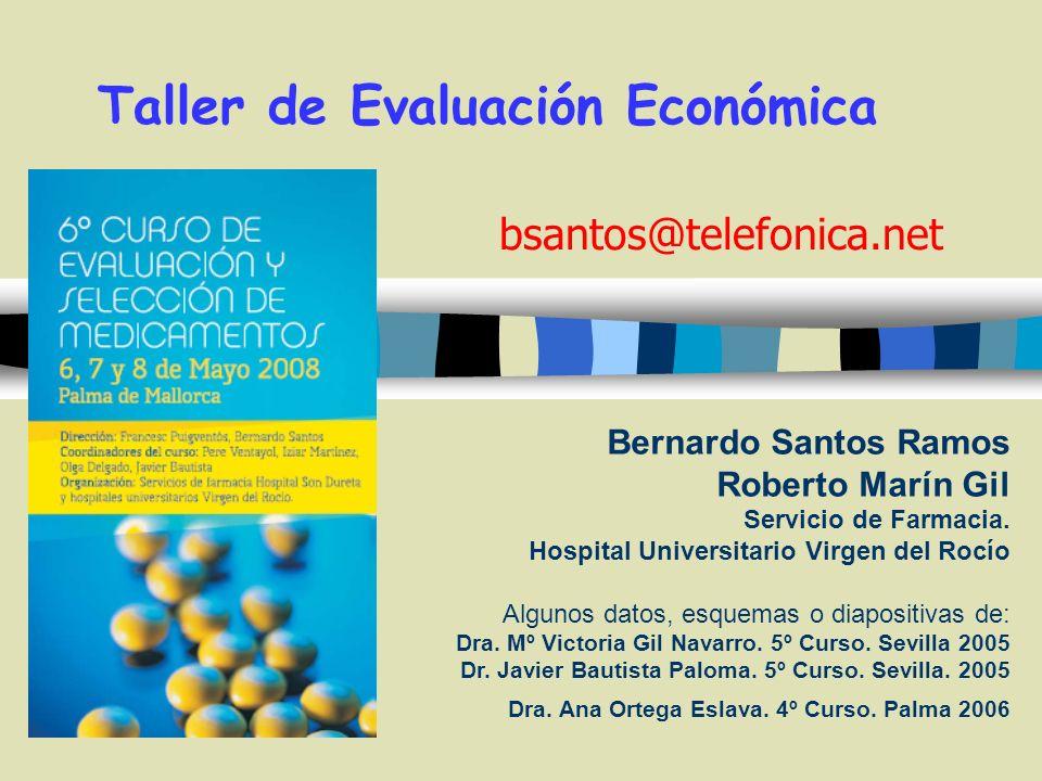 Taller de Evaluación Económica