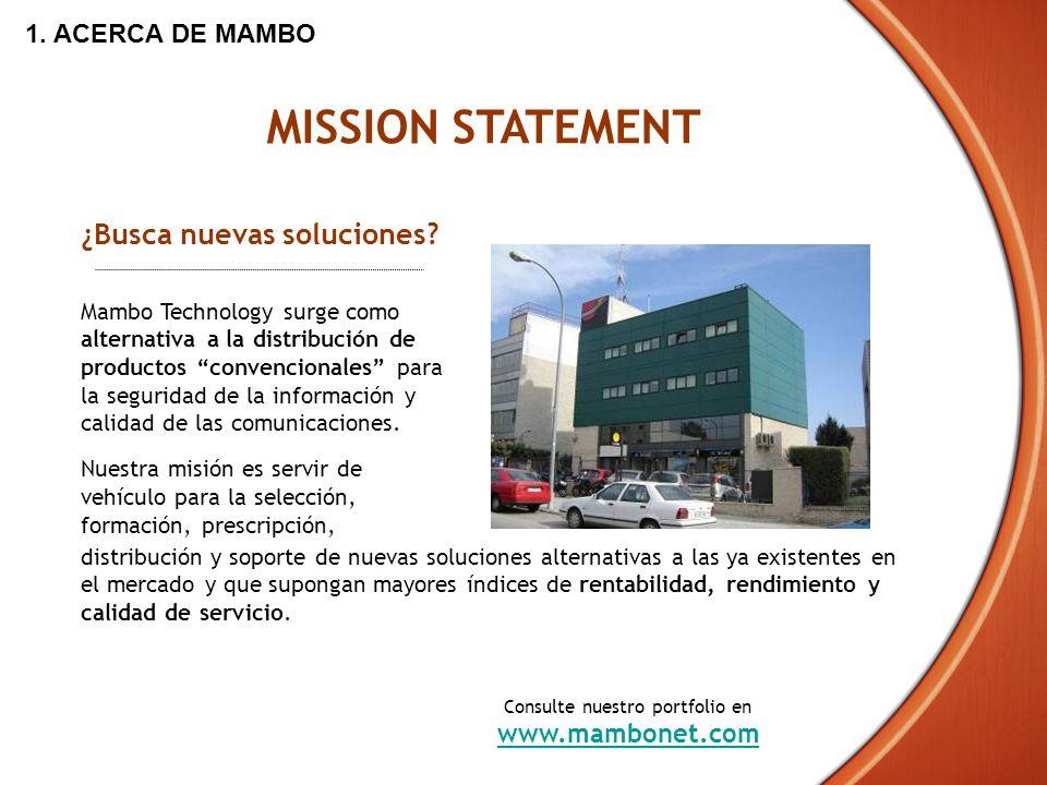 Consulte nuestro portfolio en www.mambonet.com
