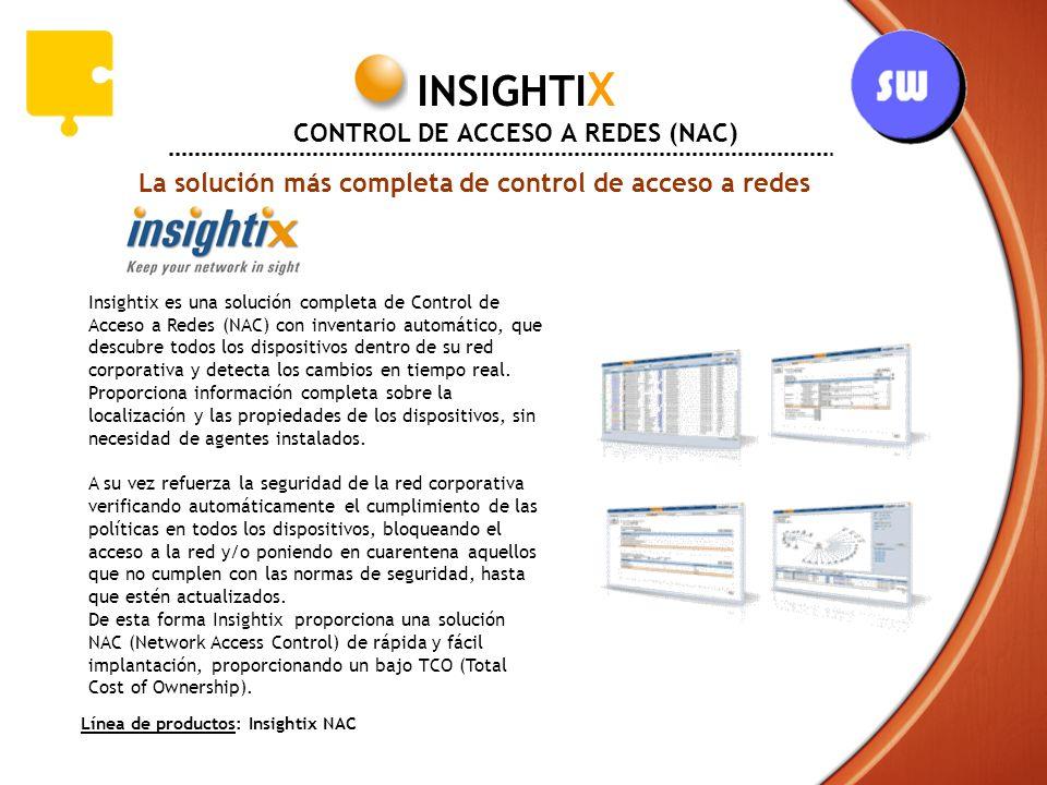 INSIGHTIX CONTROL DE ACCESO A REDES (NAC)