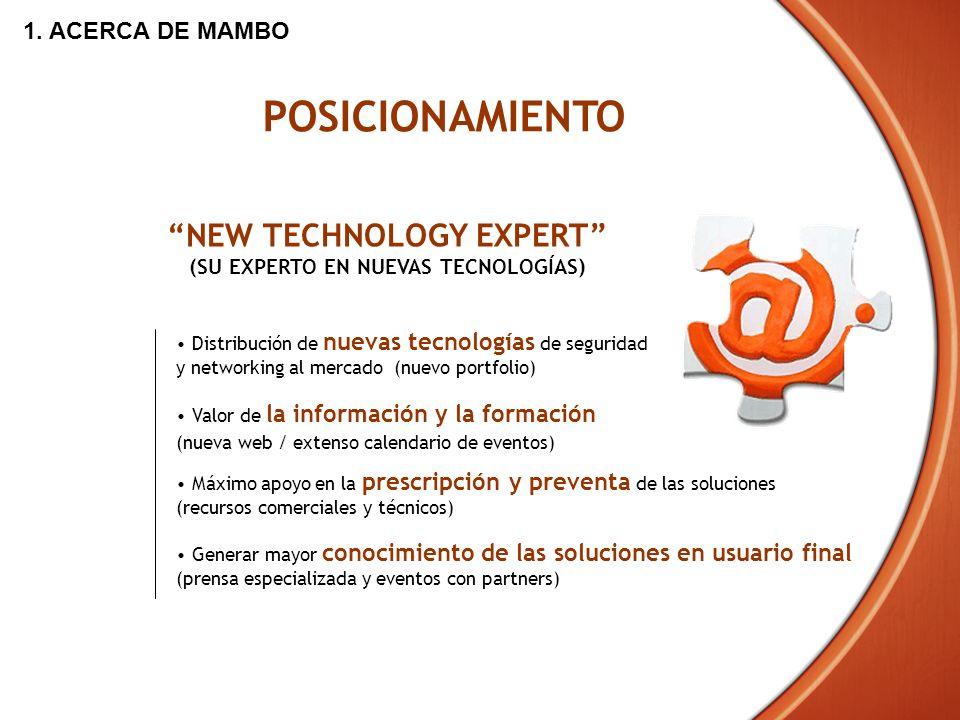 NEW TECHNOLOGY EXPERT (SU EXPERTO EN NUEVAS TECNOLOGÍAS)