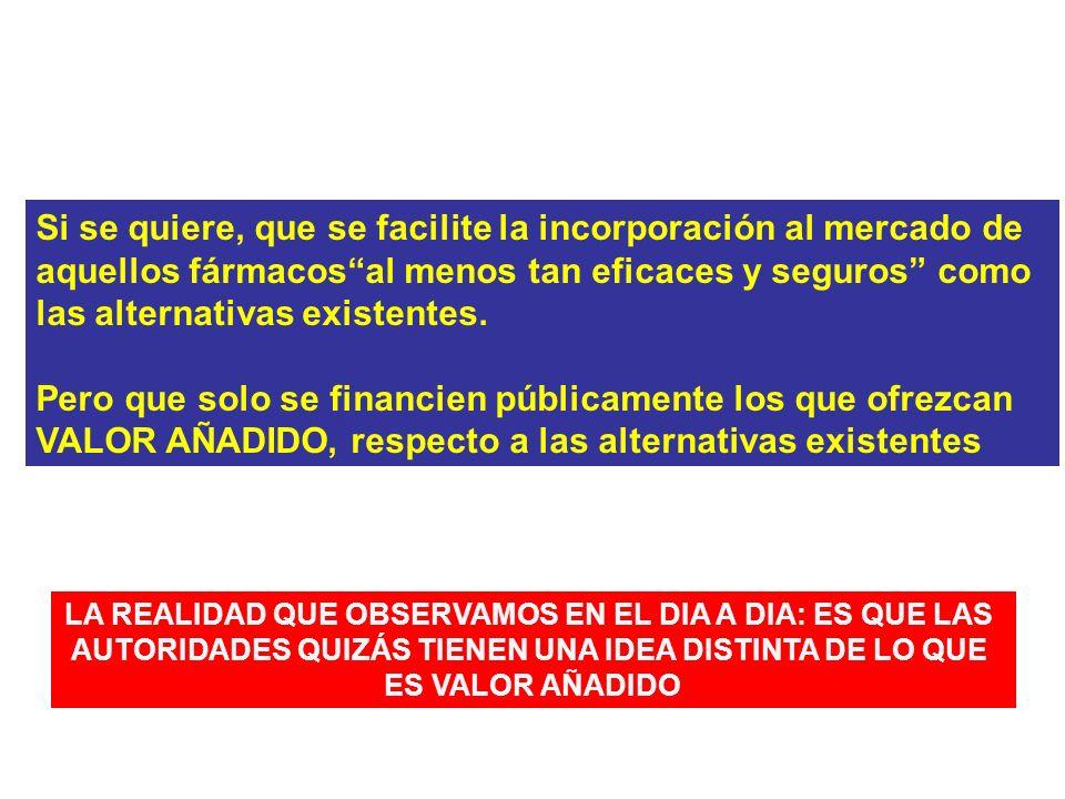 QUÉ ESPERARÍAMOS DE LAS AUTORIDADES REGULADORAS Y FINANCIADORAS