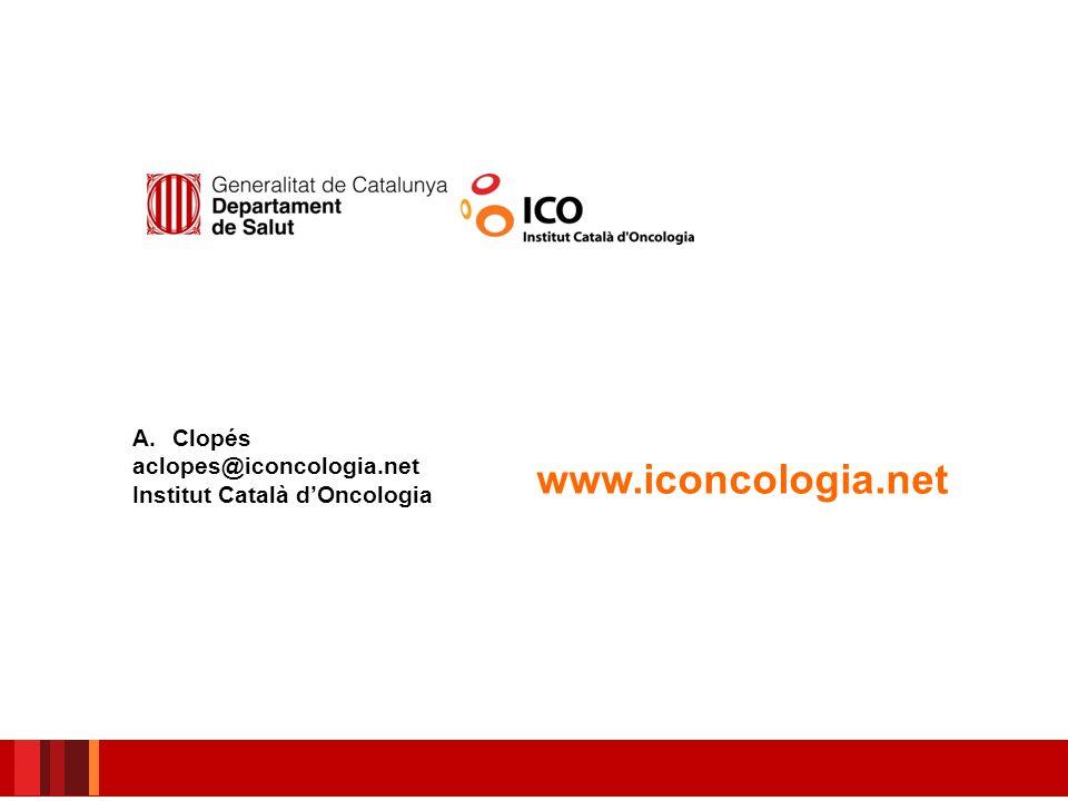 www.iconcologia.net Clopés aclopes@iconcologia.net