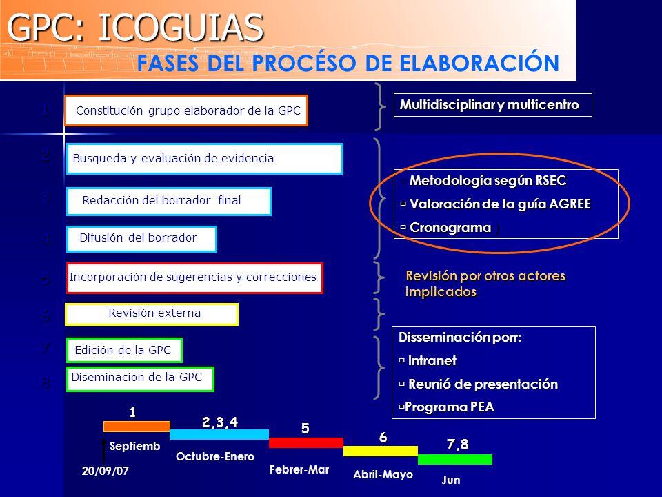 FASES DEL PROCÉSO DE ELABORACIÓN