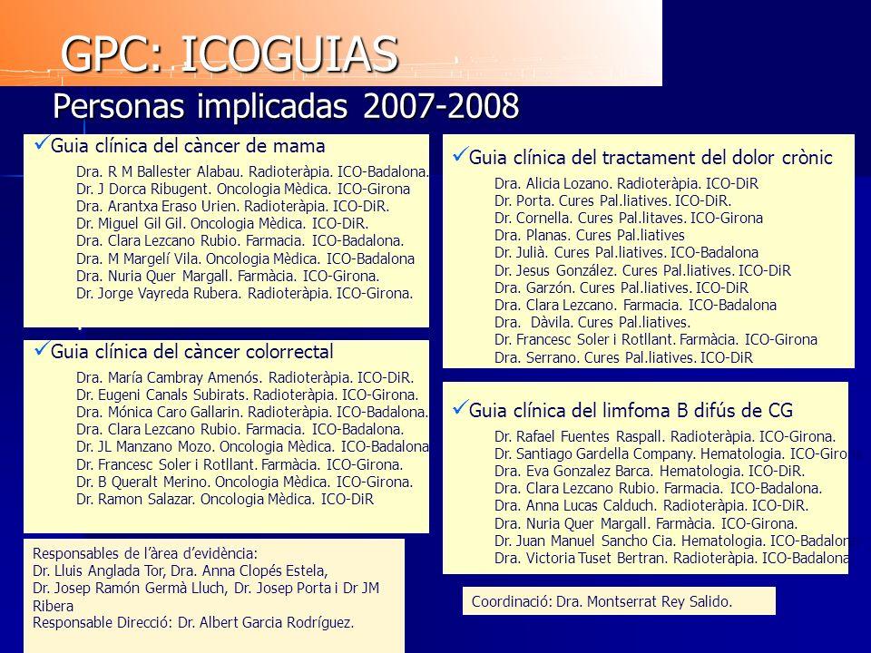 GPC: ICOGUIAS Personas implicadas 2007-2008 .
