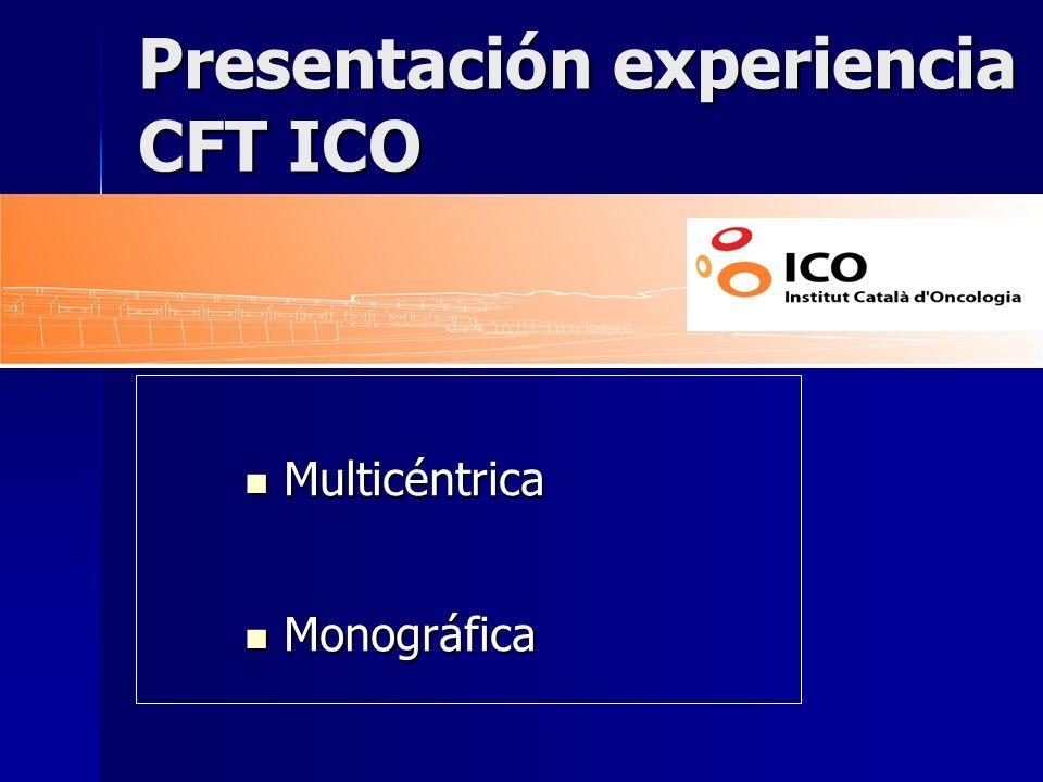 Presentación experiencia CFT ICO