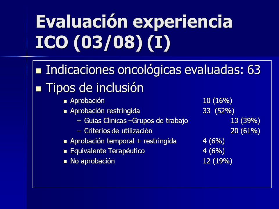 Evaluación experiencia ICO (03/08) (I)