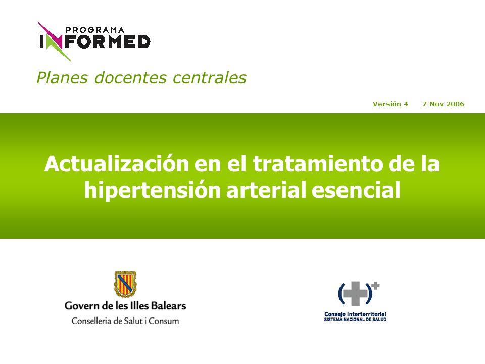 Actualización en el tratamiento de la hipertensión arterial esencial