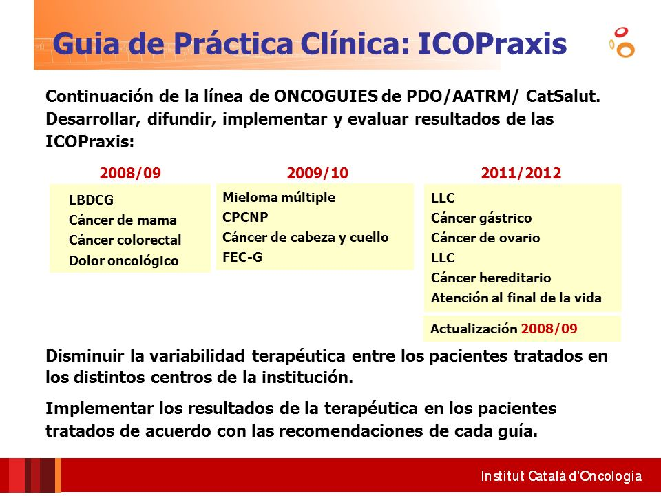 Guia de Práctica Clínica: ICOPraxis
