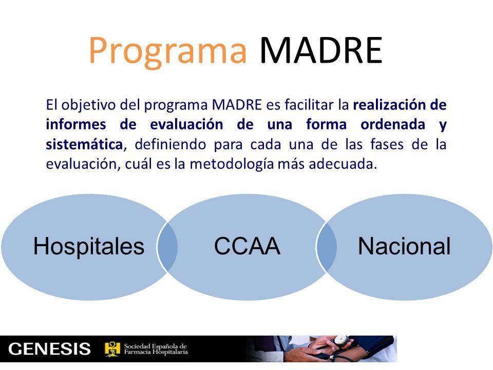 Programa MADRE