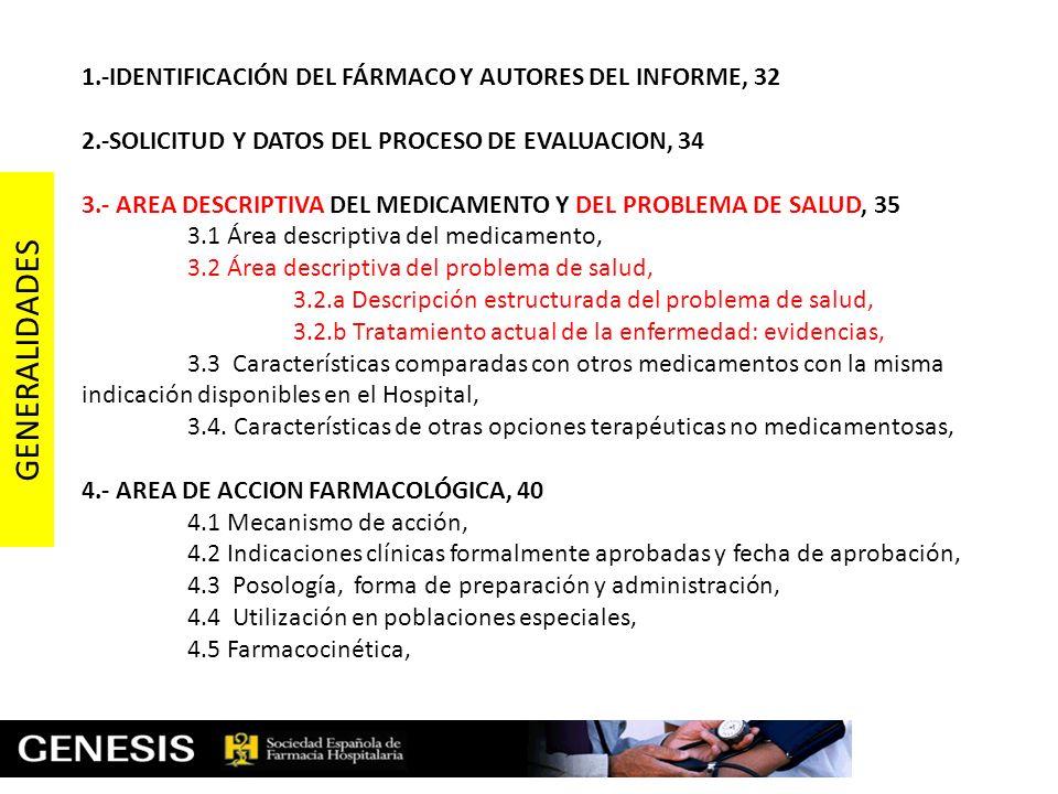 Necesidad de Selección de medicamentos: objetivos y