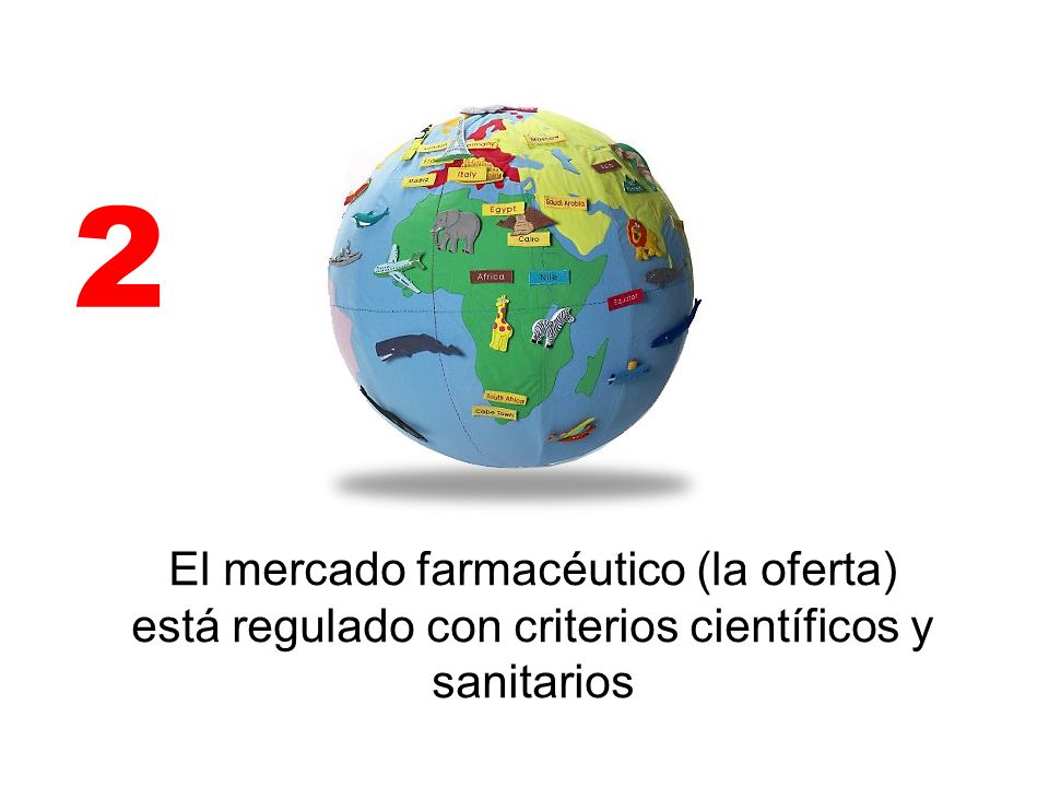 2 El mercado farmacéutico (la oferta) está regulado con criterios científicos y sanitarios