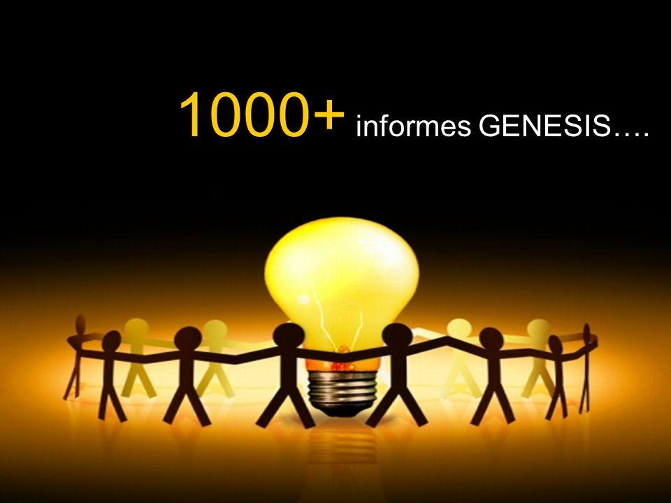 1000+ informes GENESIS….