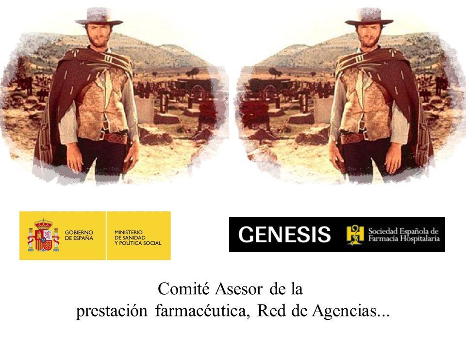 prestación farmacéutica, Red de Agencias...