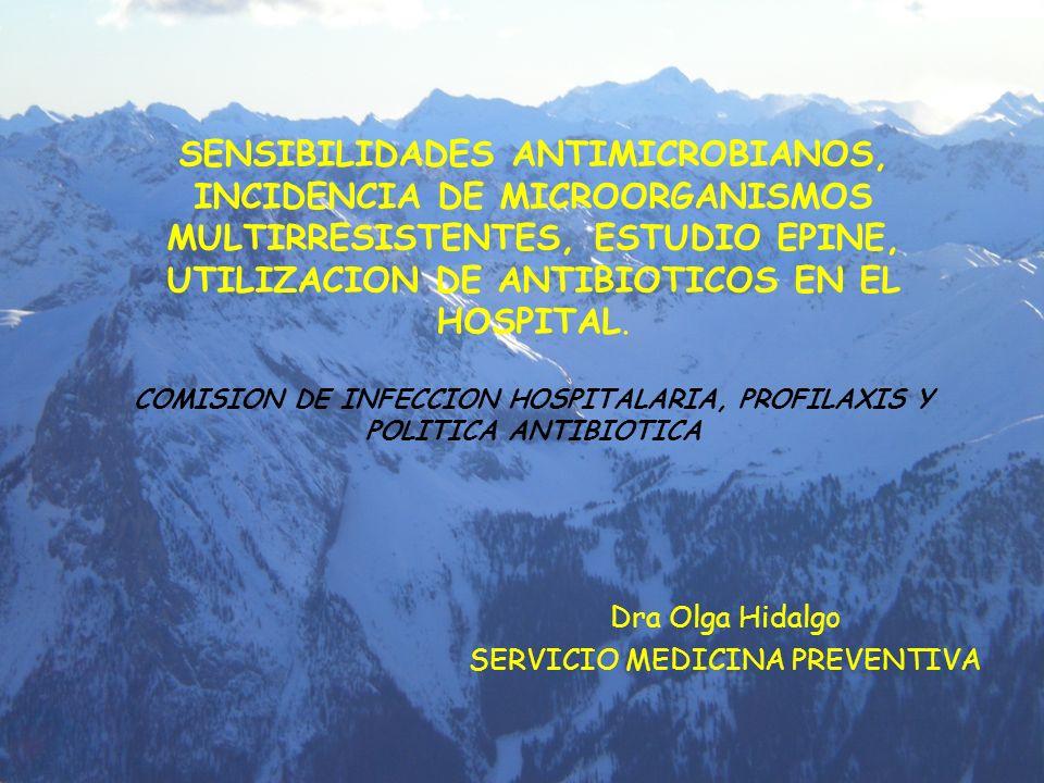 Dra Olga Hidalgo SERVICIO MEDICINA PREVENTIVA