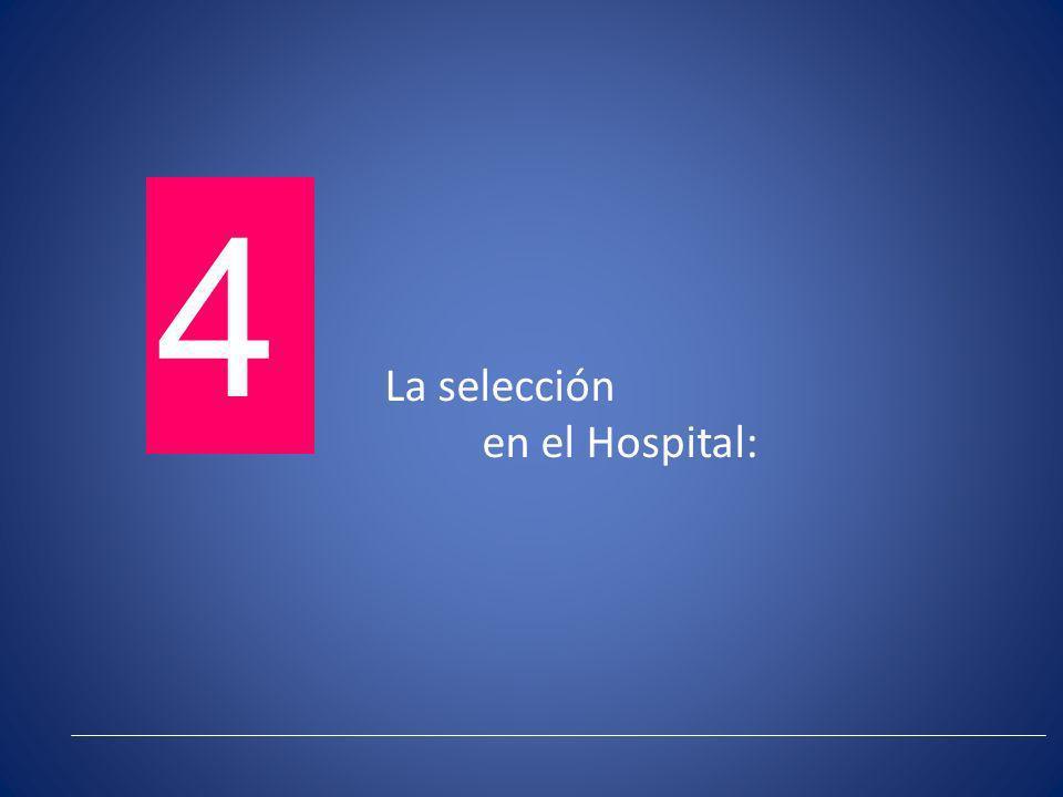 La selección en el Hospital: