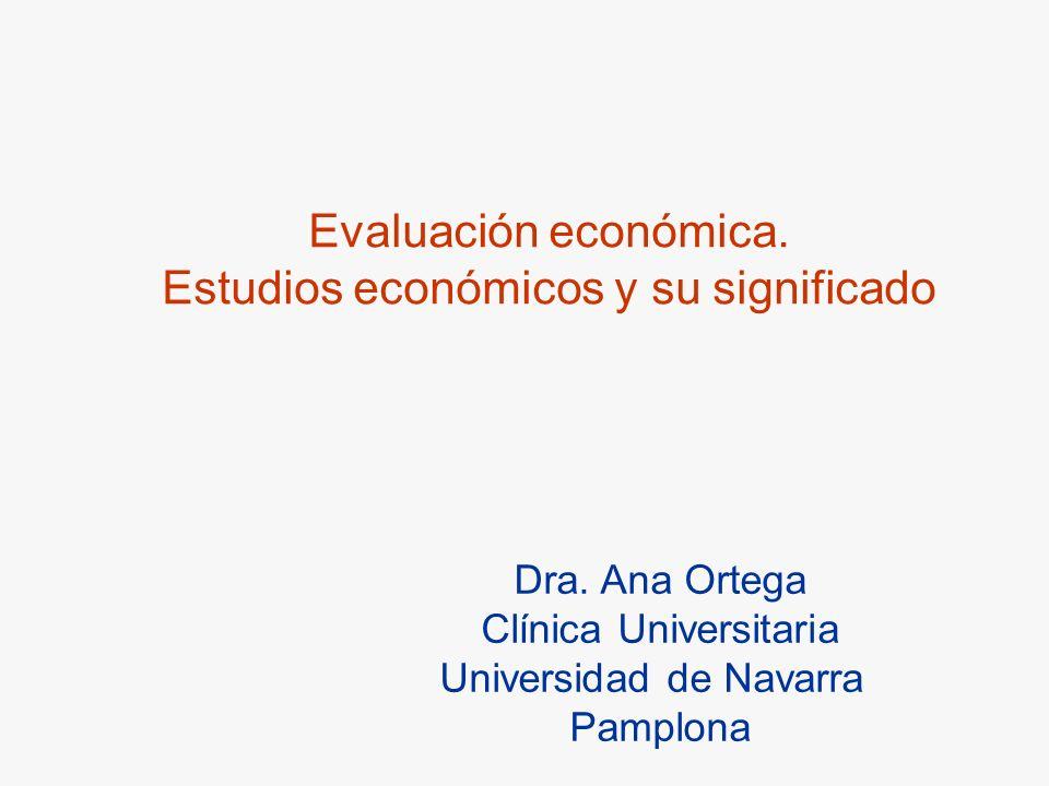 Estudios económicos y su significado