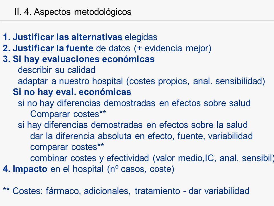 II. 4. Aspectos metodológicos
