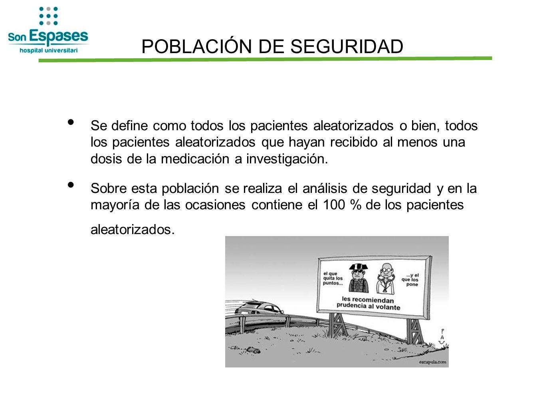 POBLACIÓN DE SEGURIDAD
