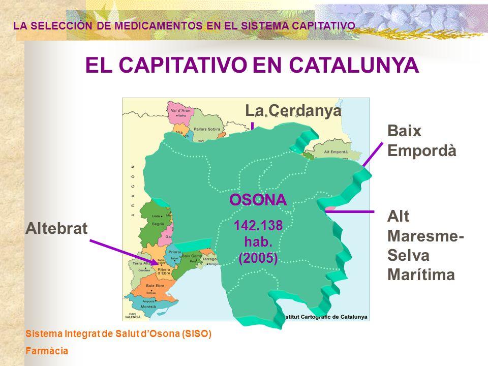 EL CAPITATIVO EN CATALUNYA