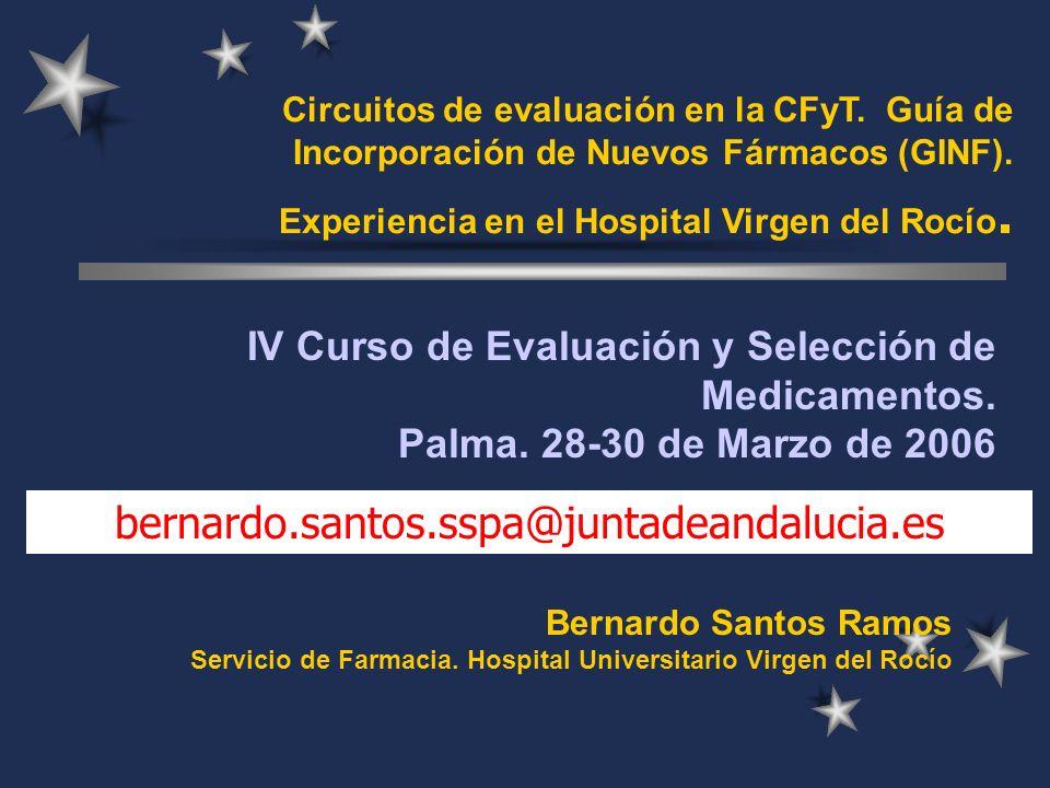 Circuitos de evaluación en la CFyT