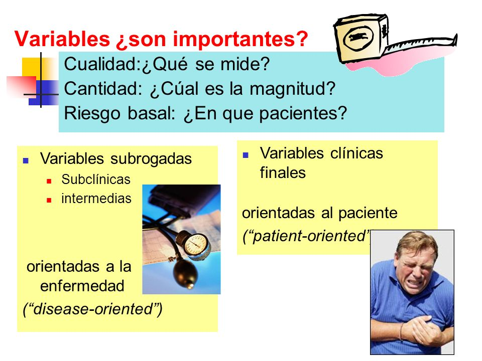 Variables ¿son importantes