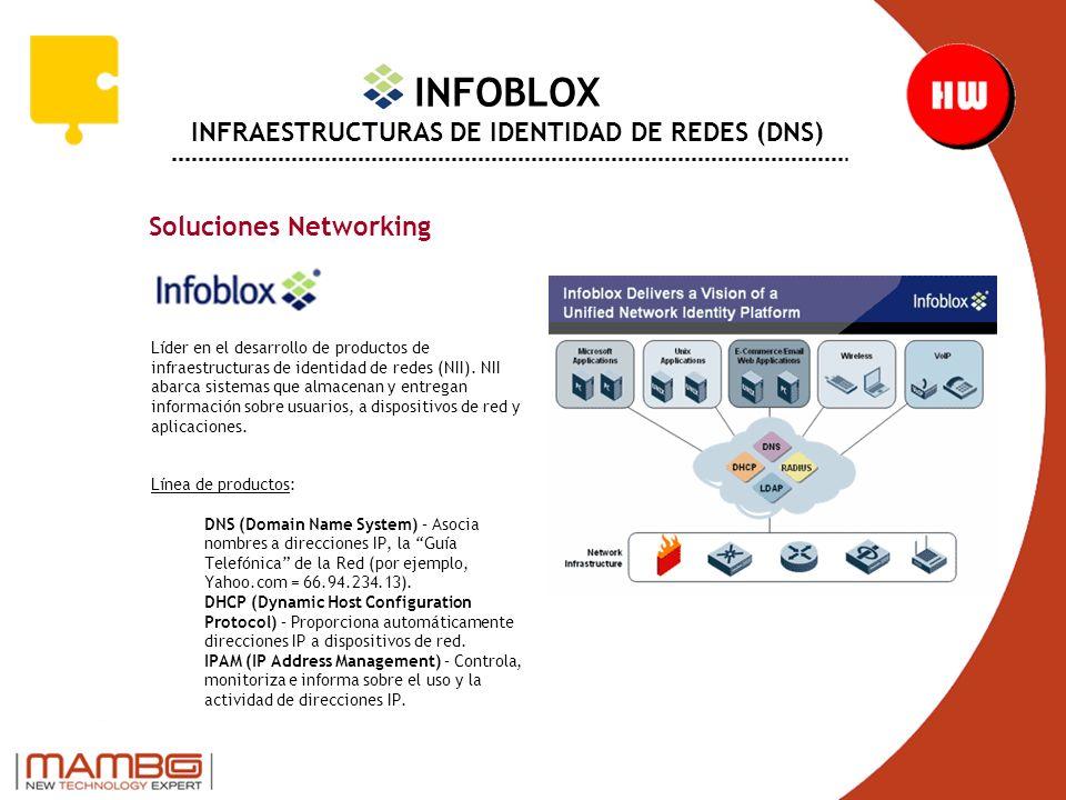 INFOBLOX INFRAESTRUCTURAS DE IDENTIDAD DE REDES (DNS)