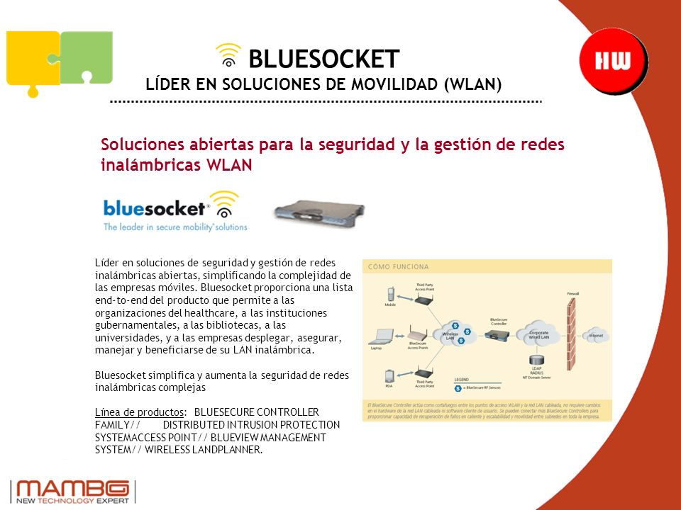 BLUESOCKET LÍDER EN SOLUCIONES DE MOVILIDAD (WLAN)