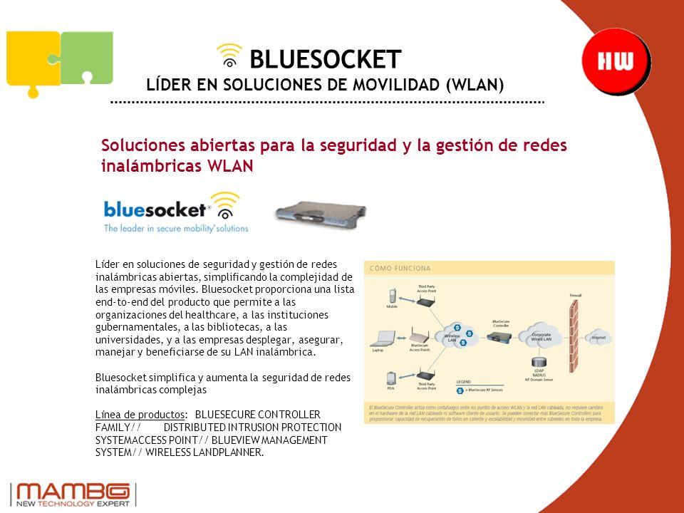 BLUESOCKET LÍDER EN SOLUCIONES DE MOVILIDAD (WLAN)
