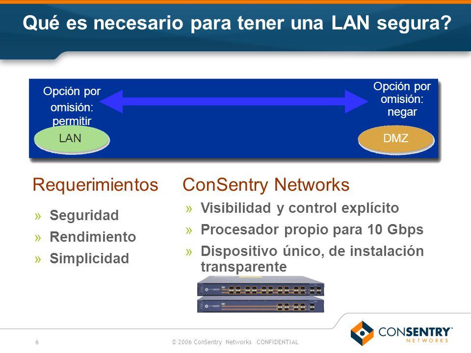 Qué es necesario para tener una LAN segura