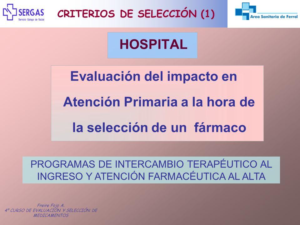 CRITERIOS DE SELECCIÓN (1)