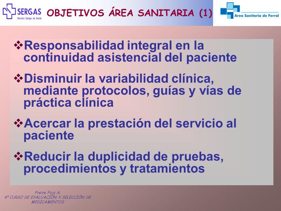 OBJETIVOS ÁREA SANITARIA (1)