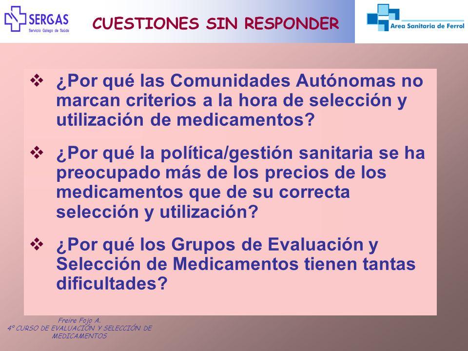 CUESTIONES SIN RESPONDER