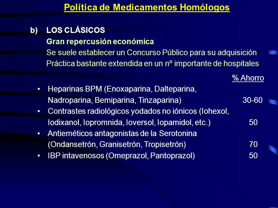 Política de Medicamentos Homólogos