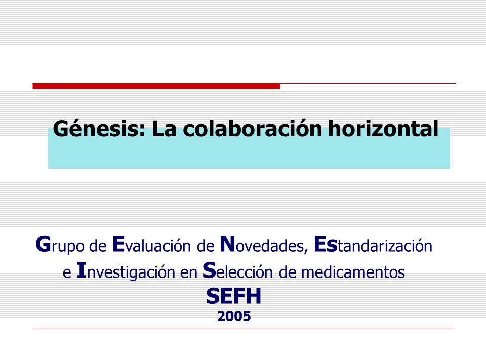 Génesis: La colaboración horizontal