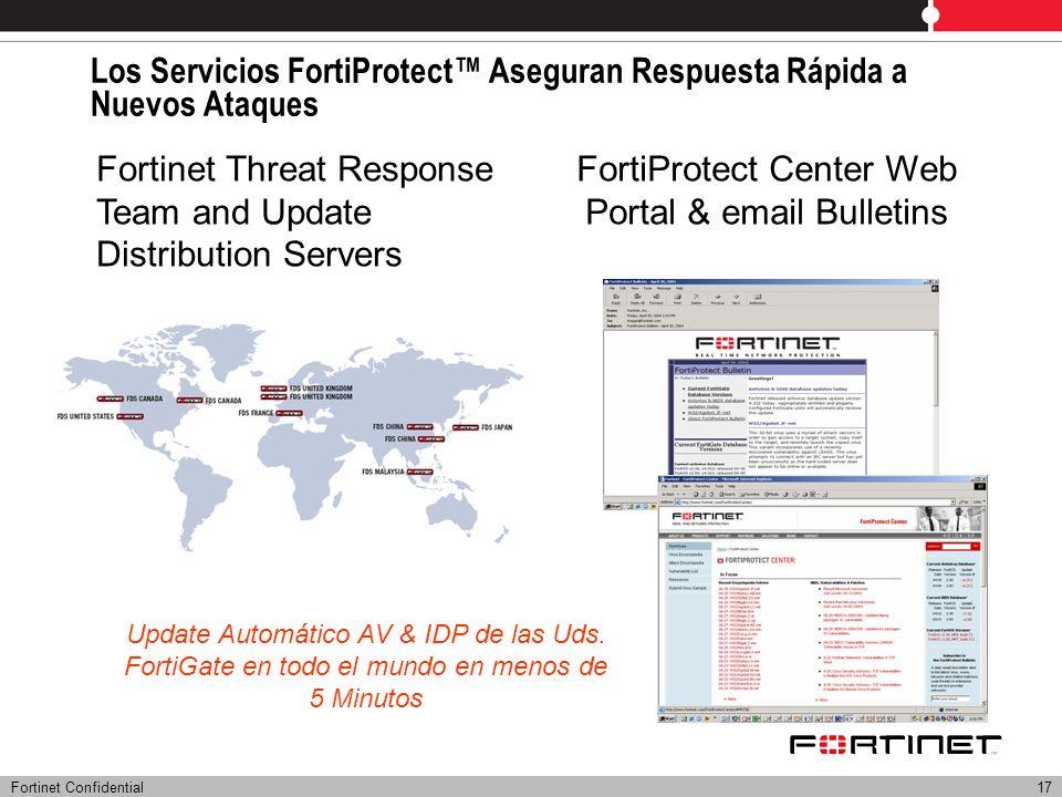 Los Servicios FortiProtect™ Aseguran Respuesta Rápida a Nuevos Ataques