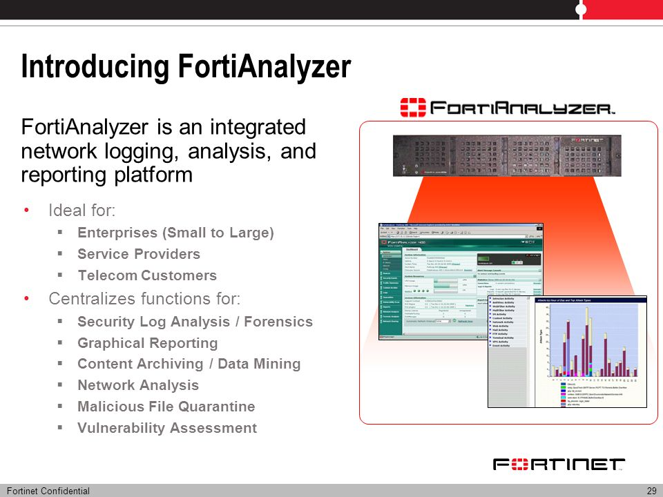 Introducing FortiAnalyzer