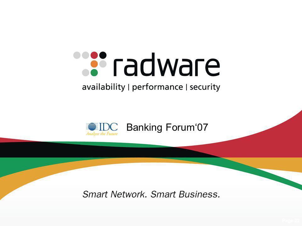 Banking Forum'07