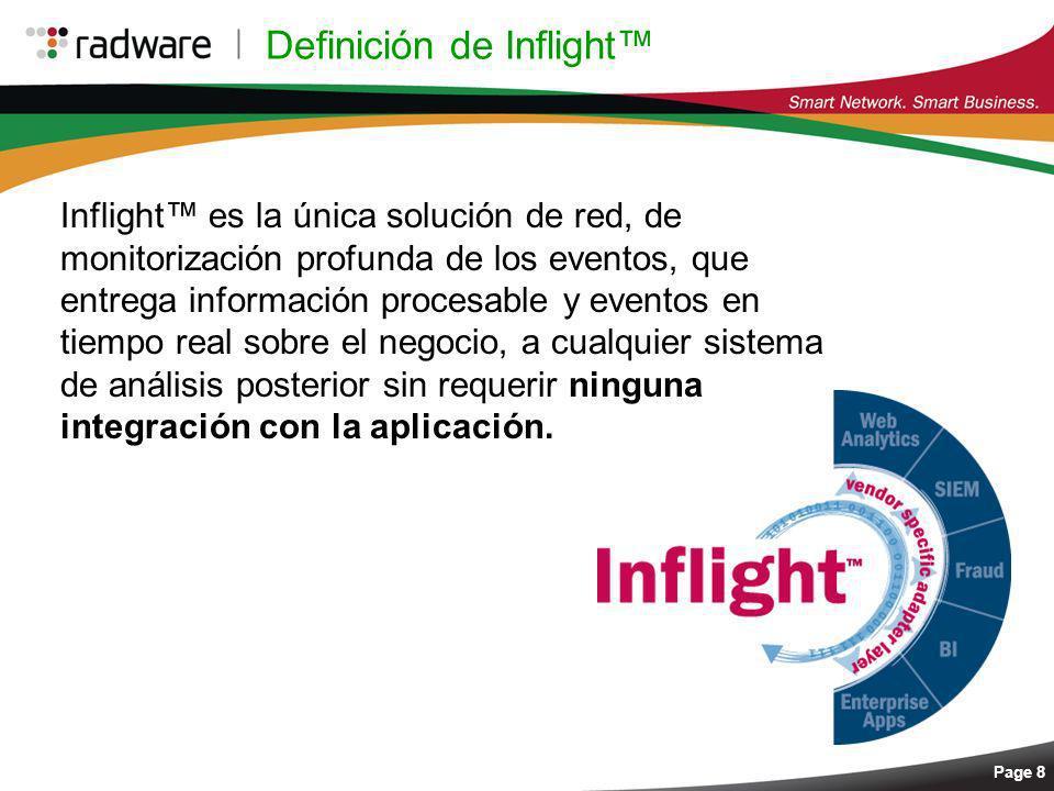 Definición de Inflight™