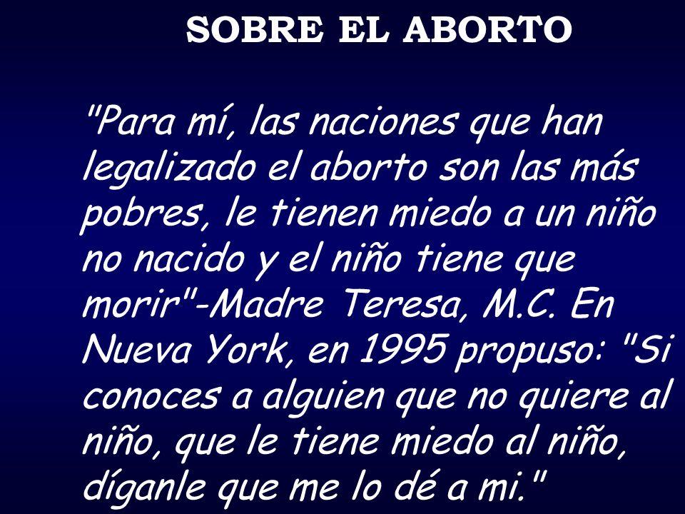 SOBRE EL ABORTO