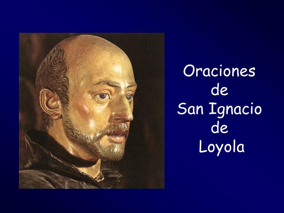 Oraciones de San Ignacio Loyola