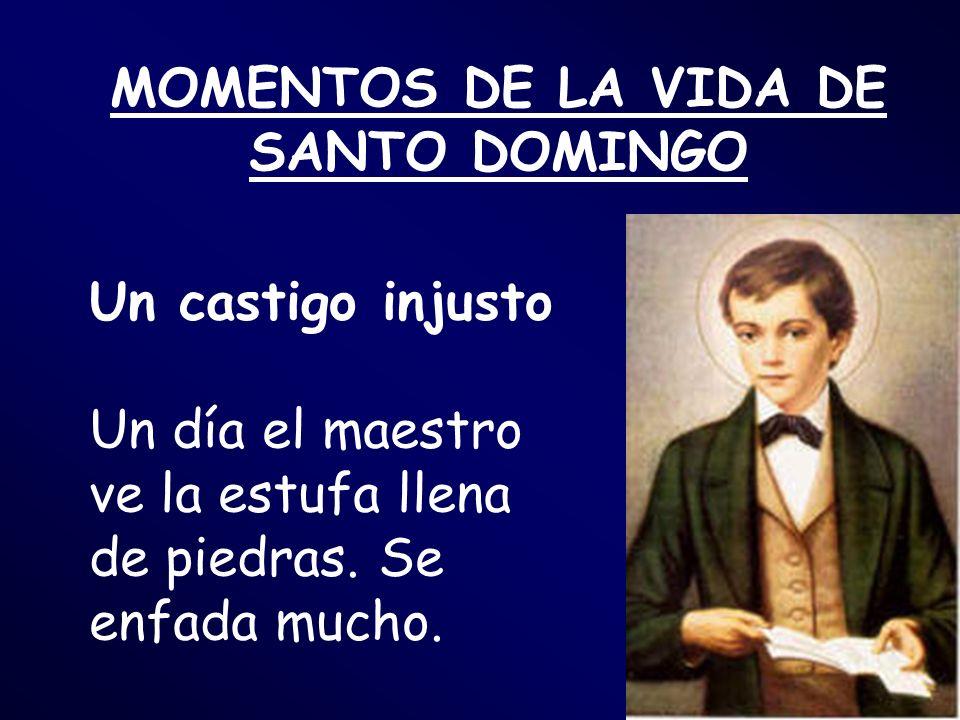 MOMENTOS DE LA VIDA DE SANTO DOMINGO