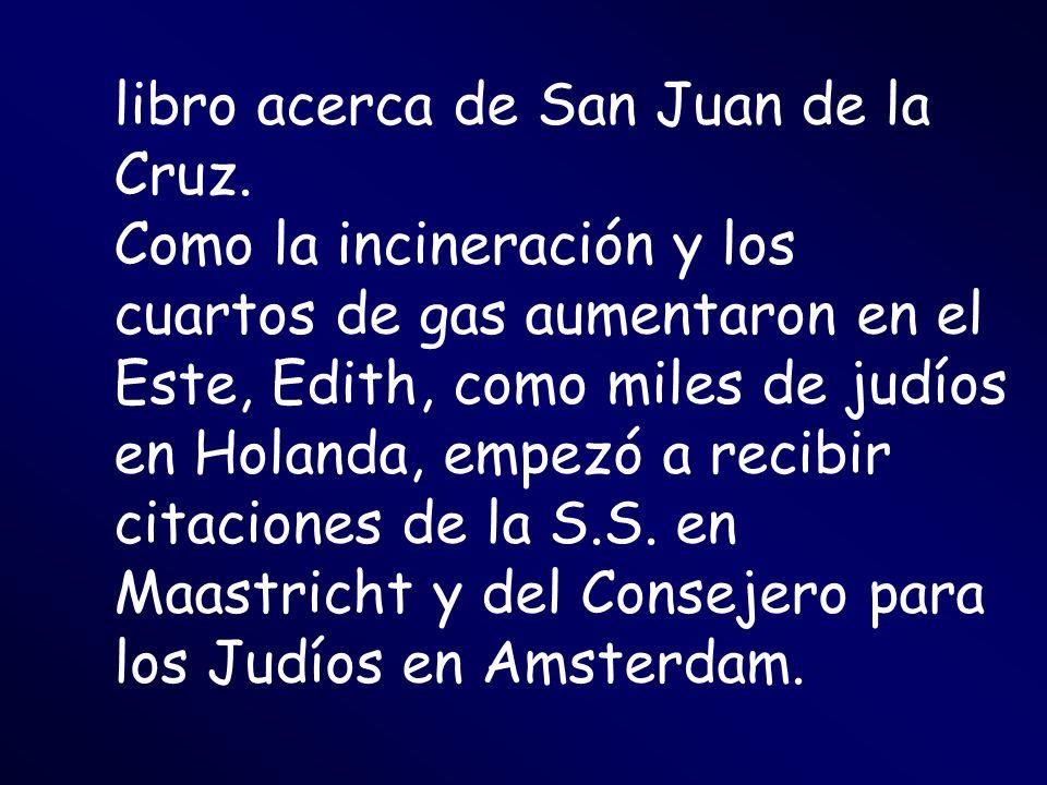 libro acerca de San Juan de la Cruz.