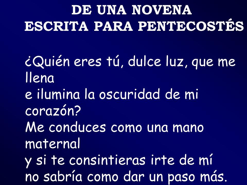 ESCRITA PARA PENTECOSTÉS
