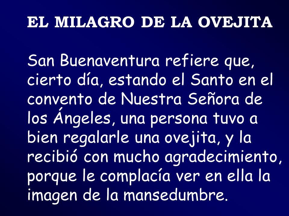 EL MILAGRO DE LA OVEJITA