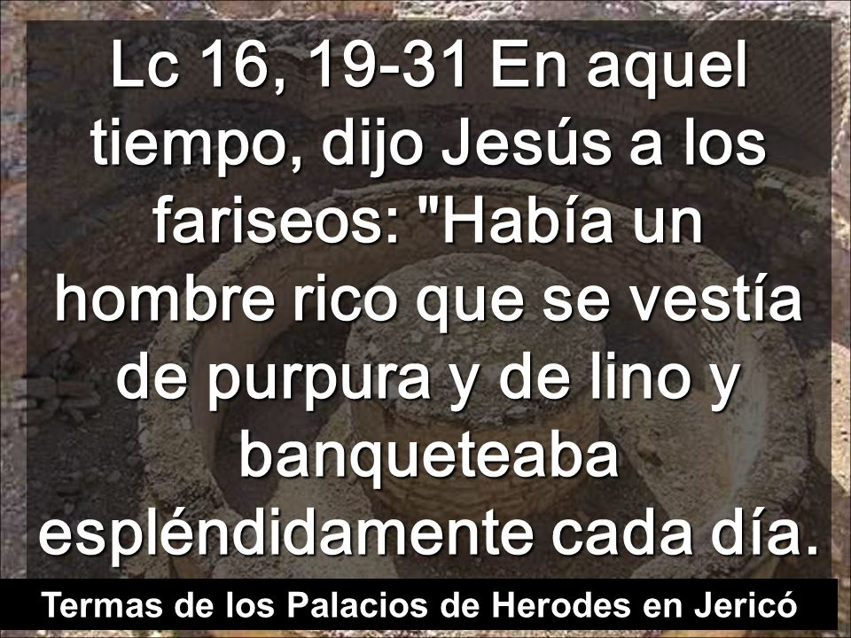 Termas de los Palacios de Herodes en Jericó